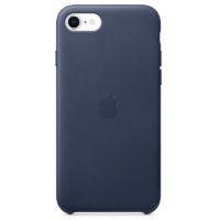 Case de Cuero Azul Medianoche iPhone Se Mobile Store Ecuador
