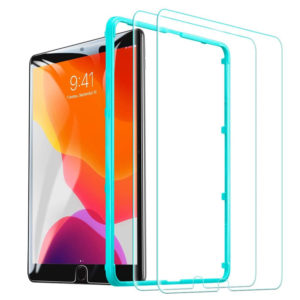 ESR Protector de pantalla HD para iPad Pro 12,9 2018, película de pantalla protectora de vidrio templado para Tablet, antiarañazos para iPad Pro 12,9