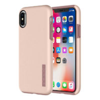 INCIPIO dual layer protection iphone x gold