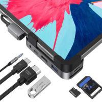 Adaptador 6 en 1 MOKIN para iPad Pro Mobile Store Ecuador