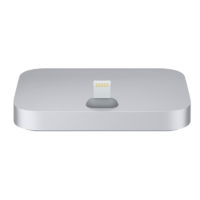 Base Dock Lightning para el iPhone Gris Mobile Store Ecuador