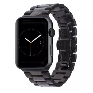 Correa Apple Watch Mate Metal Link de 42 mm - Negro Mobile Store Ecuador