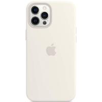 Case Silicona iPhone 12 Pro Max Blanco Mobile Store Ecuador