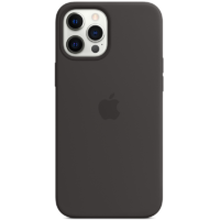 Case Silicona iPhone 12 Pro Max Negro Mobile Store Ecuador