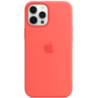Case Silicona iPhone 12 Pro Max Rosa Mobile Store Ecuador