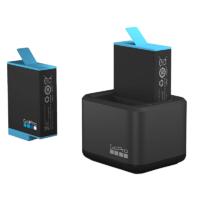 Cargador de batería dual + batería GoPro HERO9 Mobile Store Ecuador