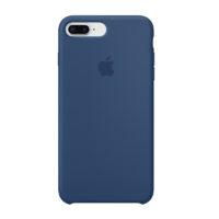 Case Silicona iPhone 8 Plus Azul Mobile Store Ecuador