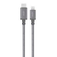 Cable Moshi Integra USB-C a Lightning de 1,2 mts Gris Mobile Store Ecuador