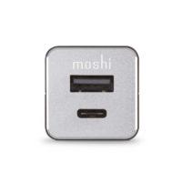 Cargador Moshi de auto QuikDuo con USB-C Mobile Store Ecuador1