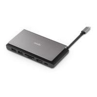 Hub Moshi USB-C portátil 7 en 1 Symbus Mini Mobile Store Ecuador