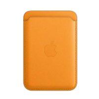Cartera de piel Amarillo con MagSafe para el iPhone Mobile Store Ecuador